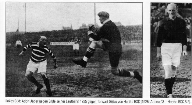 AJ 1925 gegen Hertha BSC